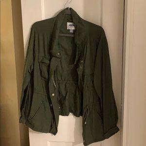 Old Navy Green Cloth Jacket